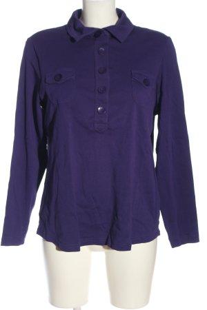 G.W. Koszulka polo fiolet W stylu casual