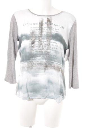 G.W. Print-Shirt mehrfarbig Casual-Look