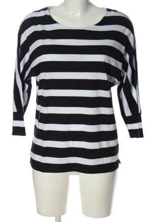 G.W. Ringelshirt schwarz-weiß Streifenmuster Casual-Look