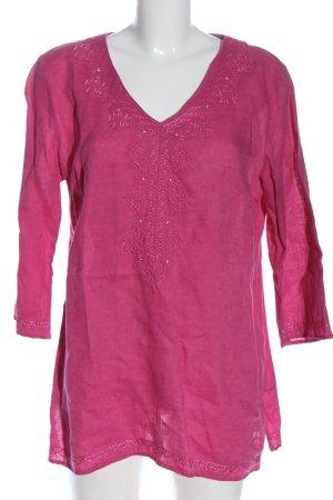 G.W. Schlupf-Bluse pink Elegant