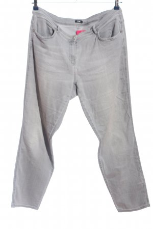 G.W. Straight-Leg Jeans hellgrau Casual-Look