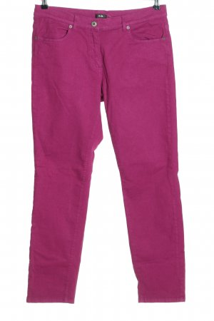 G.W. Stretch Jeans pink casual look