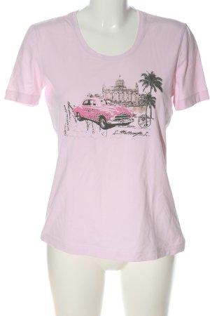 G.W. T-Shirt Motivdruck Casual-Look