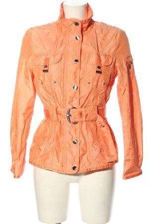 G.W. Giacca mezza stagione arancione chiaro stile casual