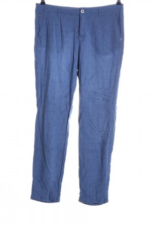 Gaastra Chinohose blau Allover-Druck Casual-Look