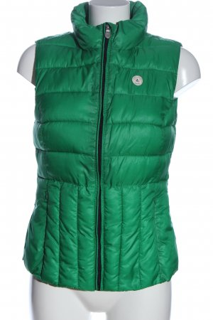Gaastra Down Vest green quilting pattern casual look