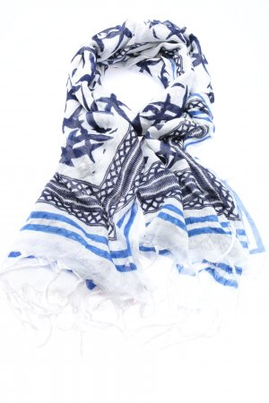 Gaastra Fringed Scarf mixed pattern casual look