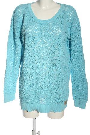 Gaastra Pull en crochet bleu style décontracté