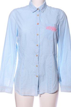 Gaastra Hemd-Bluse blau Streifenmuster Business-Look