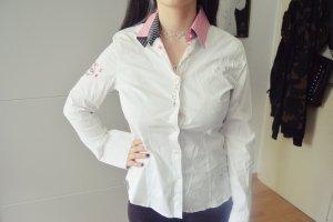 Gaastra Chemise à manches longues blanc-rose clair