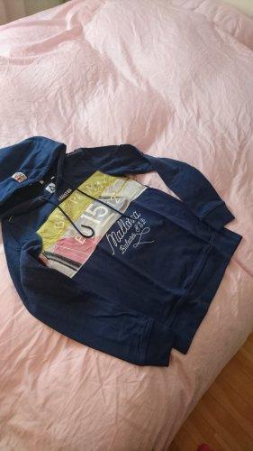 gaastra hoodie pullover blau 36 s