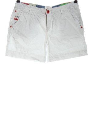Gaastra Pantalón corto blanco look casual