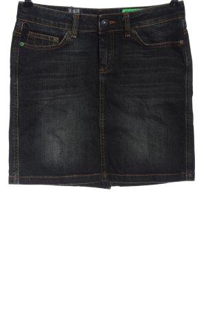 Gaastra Jupe en jeans noir style décontracté
