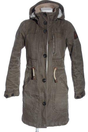 Gaastra Veste à capuche gris clair style décontracté