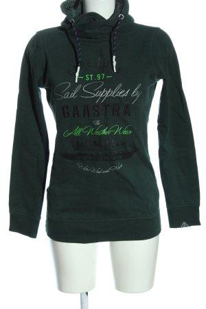 Gaastra Hooded Sweatshirt themed print casual look