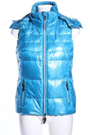 Gaastra Smanicato con cappuccio blu motivo trapuntato stile casual