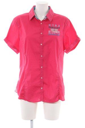 Gaastra Kurzarm-Bluse pink Casual-Look