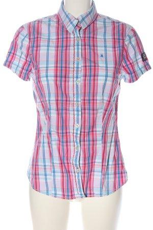 Gaastra Short Sleeve Shirt pink-blue allover print casual look