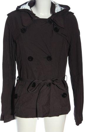 Gaastra Manteau court brun style décontracté