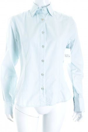 Gaastra Langarm-Bluse hellblau klassischer Stil