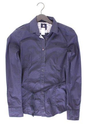 Gaastra Long Sleeve Blouse blue-neon blue-dark blue-azure cotton