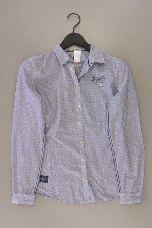 Gaastra Blusa de manga larga azul-azul neón-azul oscuro-azul celeste Algodón