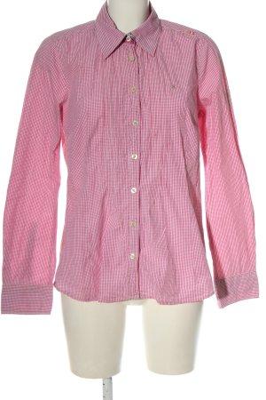 Gaastra Camicia a maniche lunghe rosa-bianco motivo a quadri stile casual