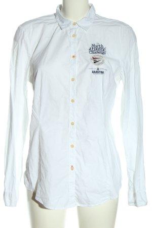 Gaastra Camicia a maniche lunghe bianco stile professionale