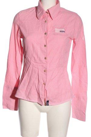 Gaastra Camicia a maniche lunghe rosa-bianco stampa integrale stile casual