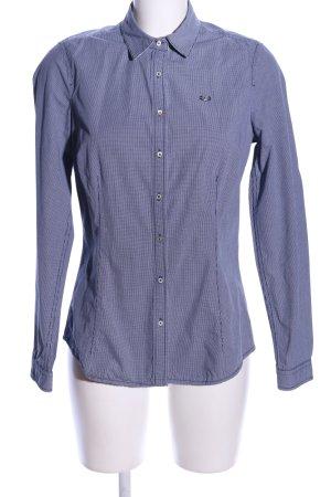Gaastra Langarmhemd blau Allover-Druck Casual-Look