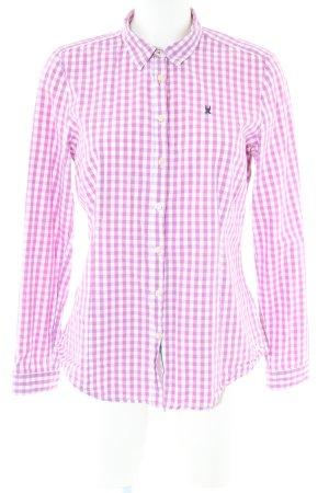 Gaastra Langarmhemd pink-weiß Allover-Druck Business-Look