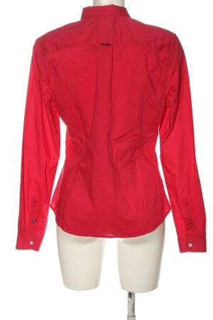 Gaastra Camicia a maniche lunghe rosso stile casual