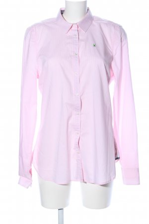 Gaastra Langarmhemd pink-weiß Allover-Druck Business-Look