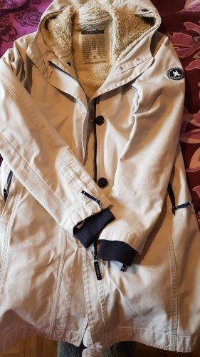 Gaastra Long Jacke beige Gr. 40