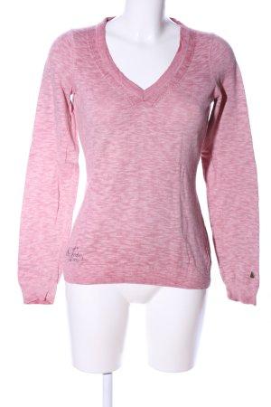 Gaastra Longsleeve pink meliert Casual-Look