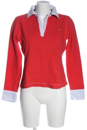 Gaastra Longsleeve red-white casual look