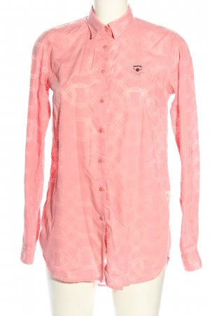 Gaastra Oversized Bluse pink Allover-Druck Casual-Look