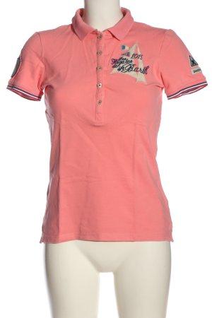 Gaastra Polo-Shirt pink Casual-Look