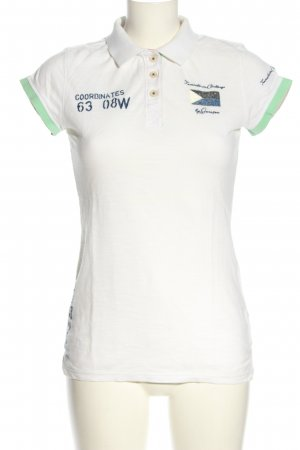 Gaastra Polo-Shirt Motivdruck Elegant