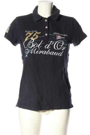 Gaastra Koszulka polo Nadruk z motywem W stylu casual