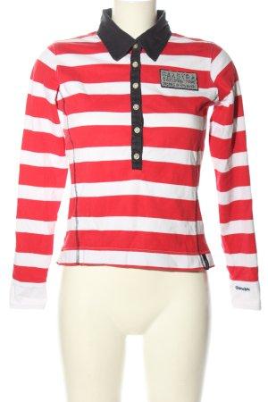 Gaastra Polo-Shirt Streifenmuster Casual-Look