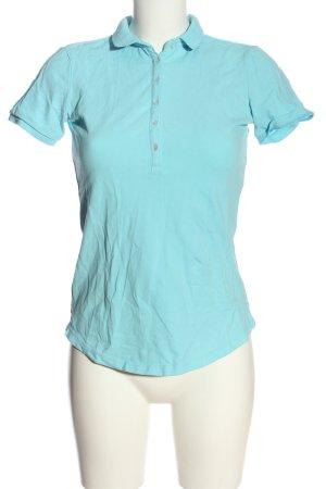 Gaastra Polo-Shirt blau schlichter Stil