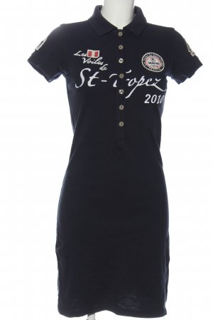 Gaastra Polo Dress printed lettering casual look