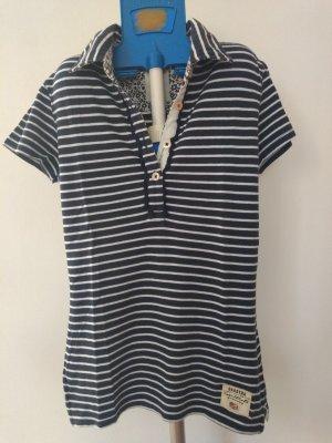 Gaastra Polo Shirt white-dark blue