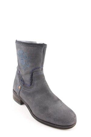 Gaastra Reißverschluss-Stiefeletten dunkelblau Street-Fashion-Look