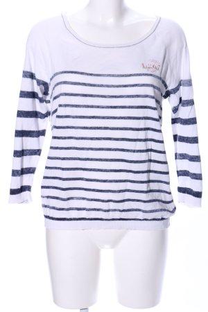 Gaastra Stripe Shirt white-blue striped pattern casual look