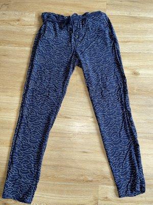 Gaastra Pantalón de camuflaje azul oscuro-crema