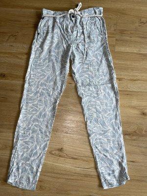 Gaastra Pantalón de camuflaje crema-azul claro