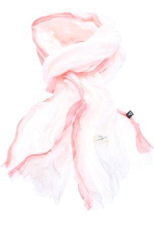 Gaastra Sciarpa estiva rosa caratteri stampati stile casual