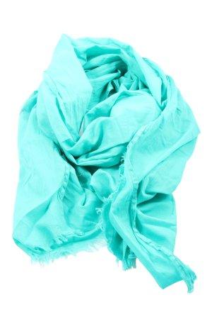 Gaastra Écharpe d'été turquoise style décontracté